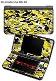 Nintendo DSi XL Skin WraptorCamo Digital Yellow