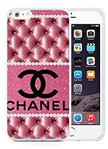 Hot Sale 6 Plus Case,Chanel 42 White iPhone 6 Plus/6S Plus 5.5 inch Screen TPU Phone Case Newest and Lovely Design