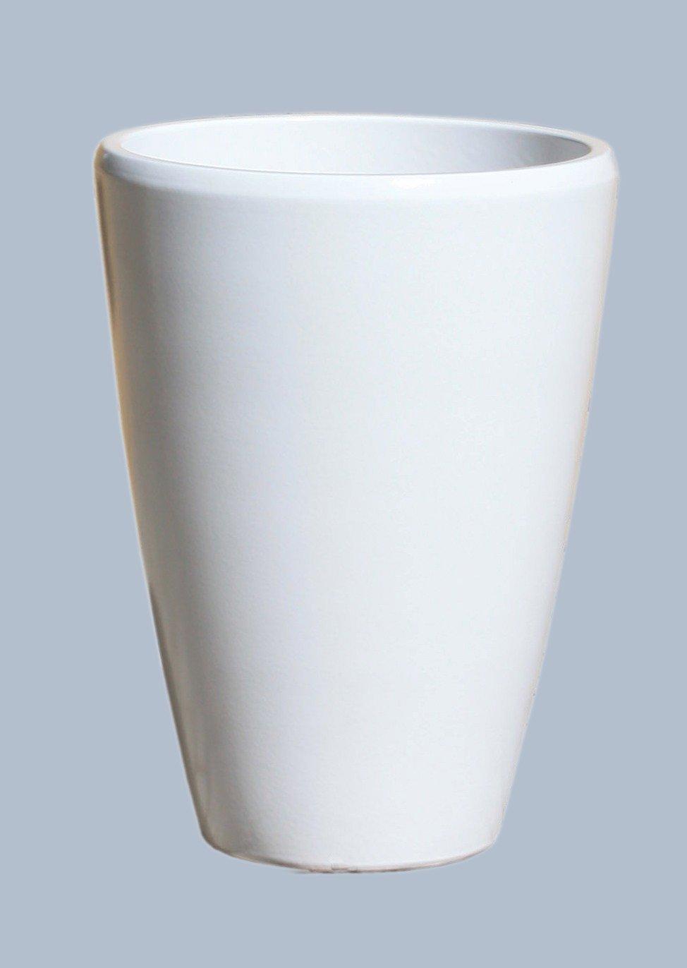 Großer Pflanztopf Pflanzkübel frostsicher rund Ø 44 x 60 cm, Farbe ...