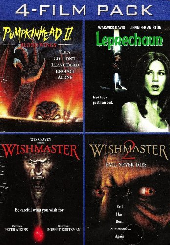 Warwick Post - 4- Film Pack (Pumpkinhead 2: Blood Wings / Leprechaun/ Wishmaster / Wishmaster 2) by Jennifer Aniston