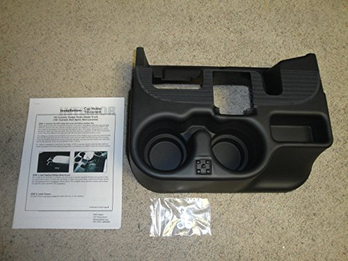 NEW 2003-12 DODGE RAM CENTER CONSOLE CUPHOLDER, BLACK, ADD-ON, 1500/2500/3500 (Center New Console)