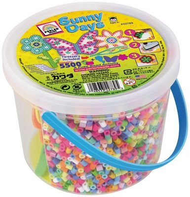 Perler Beads Sunny Activity Bucket