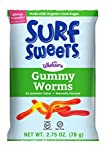 Surf Sweets Gummy Worms, Nut Free, Gluten Free, Dairy Free, 2.75 oz. (Pack of 12)
