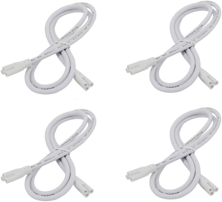 1FT T5 T8 led lamp Connecting Wire Cable for LED Integrated LED Tube Double 6 Pack 1ft