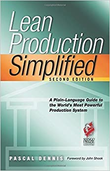 Book Lean Production Simplified by Pascal Dennis (2007-03-02)