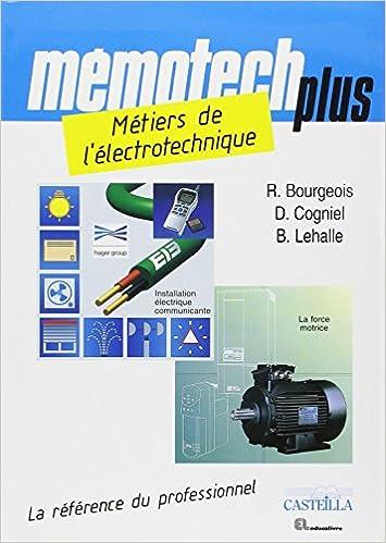 Livre Métiers de l'électrotechnique Bac pro électrotechnique, énergie, équipements communicants pdf ebook