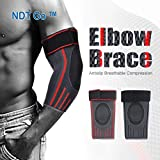 Best  - Elbow Brace Compression Sleeve (1 Pair) - Elastic Review