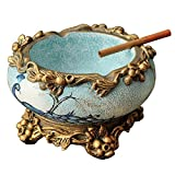 ZZSIccc European retro creative ashtray living room luxury swing in American Country Garden the home office decorations