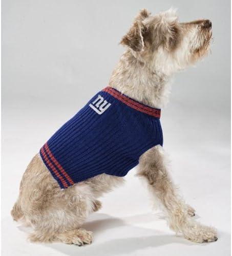 New York Giants Dog Sweater