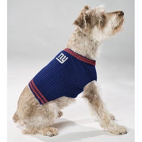 7504c81c7 Amazon.com   New York Giants Dog Sweater   Pet Supplies