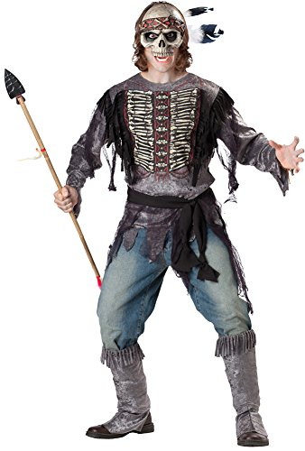 Spirit Warrior Halloween Costume (Adult-Costume Spirit Warrior Adult Lg Halloween Costume - Adult Large)