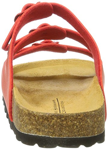 70 Rosso Femme Hans Herrmann Collection Mules Rouge HHC wnYYa0qZF