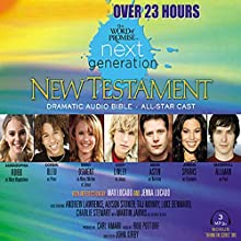 The Word of Promise Next Generation Audio Bible: ICB Audiobook by  Thomas Nelson, Inc. Narrated by Marshall Luke Allman, Tahj Astin, Emily Benward, Sean Bleu, Alyson Lawrence, Cody Linley, Jenna Lucado, Andrew Robb