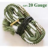 New Bore Snake Cleaning Shotgun Gun 20 GA Gauge Boresnake Barrel Cleaner Kit