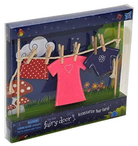 Irish Fairy Clothes Line with Female -