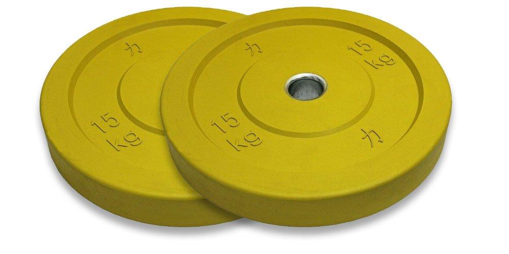 STRENGTHSHOP Riot Bumper Plates / Hantelscheiben, farbig, je ein ein ein Paar 5 kg bis 25 kg 45892c