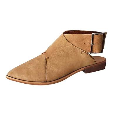 7f32eb39f6f2 DENER❤ Women Ladies Flat Sandals with Heels