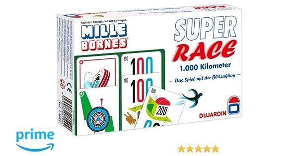 Winning Moves 4035576080299 Super Race 1000 kilometer - Juego de mesa [importado de Alemania]