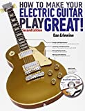 img - for How to Make Your Electric Guitar Play Great - Second Edition Bk/online media book / textbook / text book