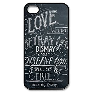 Gators Florida USA Famous Folk Rock Band Mumford & Sons Babel iPhone 4,4S Hard Plastic Phone Case