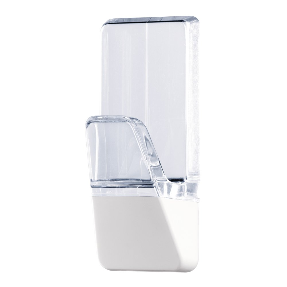 Tesa Powerstrips Large Hook Combi Pack–Clear and White + Strips by tesa UK (Image #2)