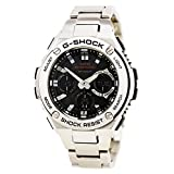 Casio G-Shock S-Steel Series Multi Band Solar GSTS110D-1A Mens