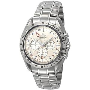 Omega Men's 3581.30.00 Speedmaster Broad Arrow GMT Automatic Chronometer Chronograph Watch