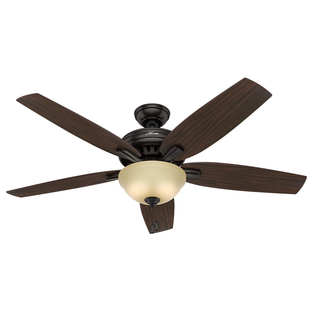 "Hunter Fan Company Newsome天井ファンwithライト 56""/Large 54161 1 B01C2A1GT4  Premier Bronze 56\"