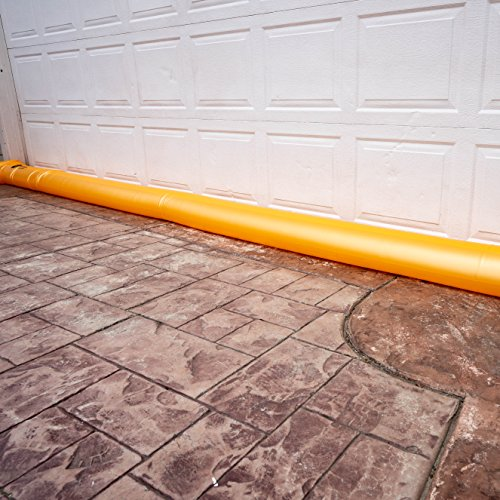 - Best Sandbag Alternative - Hydrabarrier Standard 24 Foot Length 4 Inch Height. - Water Diversion Tubes That are The Lightweight, Re-usable, and Eco-Friendly (Single Unit)
