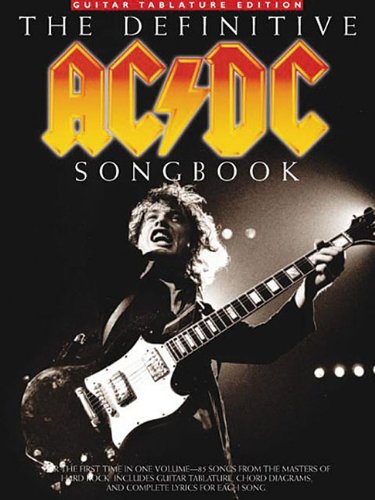 The Definitive AC/DC Songbook Guitar Tablature Edition