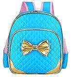 Waterproof Kindergarten Kids Backpack School Bookbag for Little Girls Blue