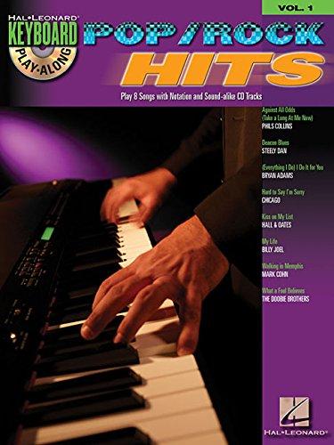 POP/ROCK HITS - KEYBOARD PLAY-ALONG VOLUME 1 (BOOK/CD)