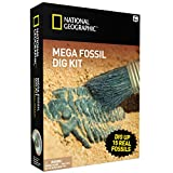 #2: NATIONAL GEOGRAPHIC Mega Fossil Mine – Dig Up 15 Real Fossils