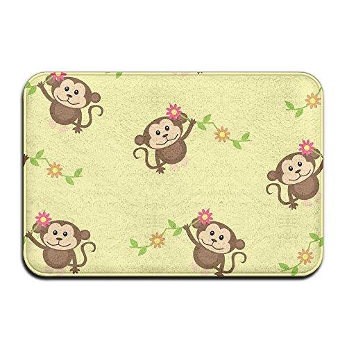 Home Door Mat Cute Monkey Doormat Door Mats Entrance Rugs Anti Slip 4060 For Indoor Outdoor