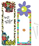 Geddes Locker Rockers White Board Assortment - Set of 12