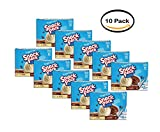 PACK OF 10 - Snack Pack Sugar Free Vanilla & Chocolate Pudding, 3.25 Ounce, 12 count