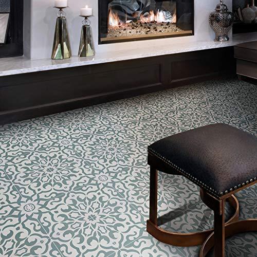 Moroccan Mosaic & Tile House CTP57-01 Atlas Handmade Cement Tile, 8''x 8