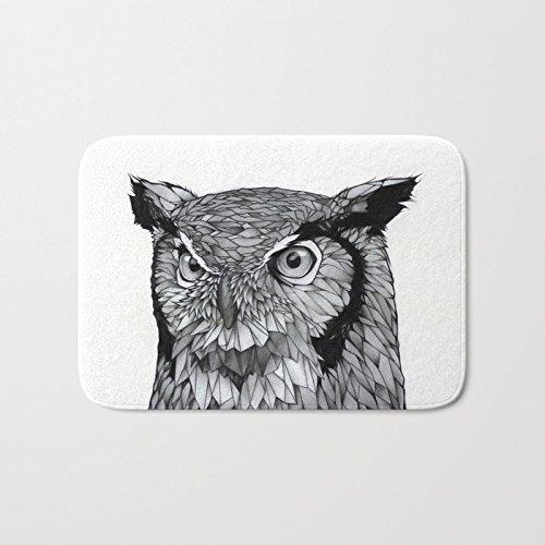 Amazoncom Ashasds Cushion Sketch Animal Owl Sharp Eyes