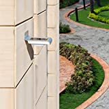 Solar Body Sensing Wall Lamp Solar Powered Security Light Waterproof Wireless Smart Lighing 16 LEDs