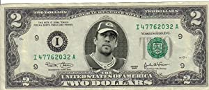 Packers Aaron Rodgers $2 Dollar Bill Mint! Rare! $1