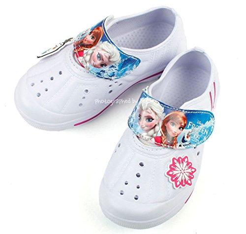 Frozen Elsa Anna Girls Slippers Clog Mule School Comfort Ind
