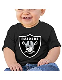 MayDay Oakland Raider 6 To 24 Months Infant Round Collar Tee