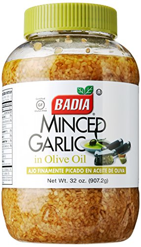 Badia Garlic Minced Oil, 32 oz by Badia