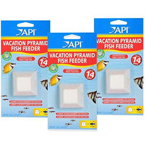 API Aquarium Automatic Fish Feeder, 3 Pack from API
