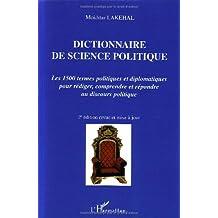 Dictionnaire de science politique 2e édi