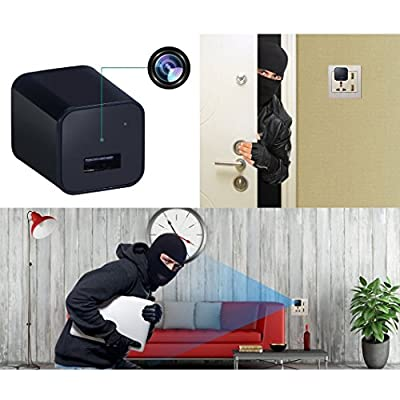 Hidden Spy Camera 1080P HD USB Wall Charger For Use In Security Surveillance or as a Mini Nanny Cam by Arena Club from Enter The Arena