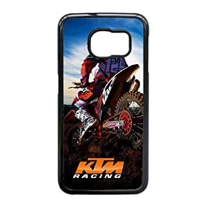 Lovely Motocross Phone Case For Samsung Galaxy S6 Edge P57217