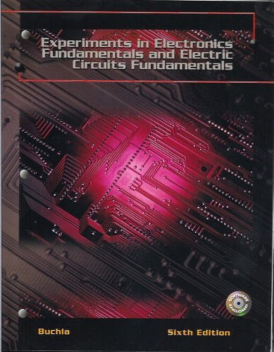 Download Experiments In Electronics Fundamentals And Electric