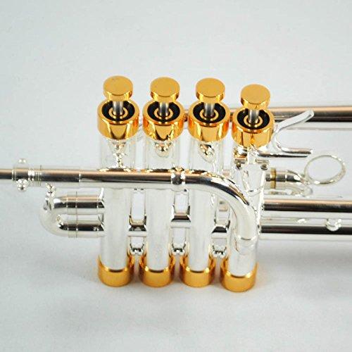 Schiller CenterTone Piccolo Trumpet Silver Plated/Gold
