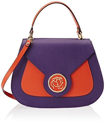 Braccialini Alicia - Bolsos de mano Mujer Varios colores (Viola/arancio)